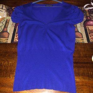 Express blouse size L color: 🍆